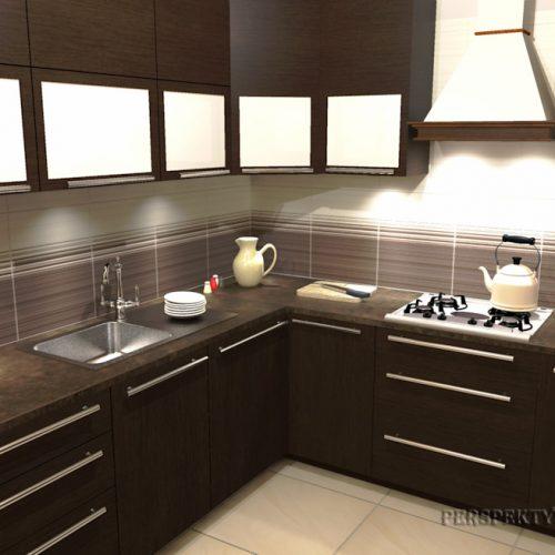 projekt-kuchni-projektowanie-wnętrz-lublin-perspektywa-studio-kuchnia-tradycyjna-fronty-drewniane-Czekolada-96%-3