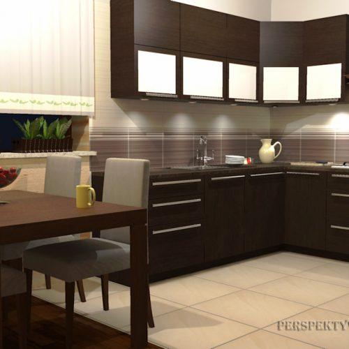 projekt-kuchni-projektowanie-wnętrz-lublin-perspektywa-studio-kuchnia-tradycyjna-fronty-drewniane-Czekolada-96%-5