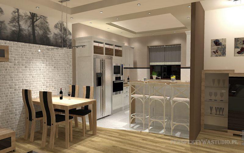 Kuchnia W Salonie Projekty I Aranżacje Inspiracje I