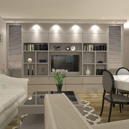 projekt-kuchni-salonu-projektowanie-wnętrz-lublin-perspektywa-studio-kuchnia-klasyczna-angielska-lodówka-side-by-side-salon-meblościanka-jadalnia-Sielsko-angielsko-2