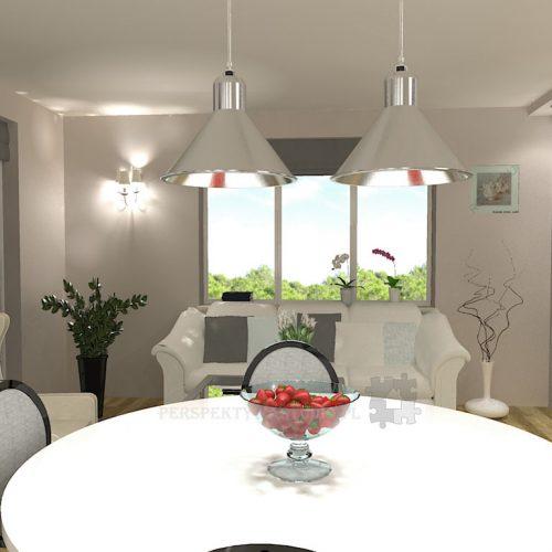 projekt-kuchni-salonu-projektowanie-wnętrz-lublin-perspektywa-studio-kuchnia-klasyczna-angielska-lodówka-side-by-side-salon-meblościanka-jadalnia-Sielsko-angielsko-3