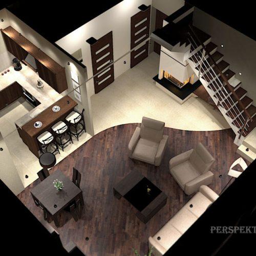 projekt-kuchni-salonu-projektowanie-wnętrz-lublin-perspektywa-studio-kuchnia-klasyczna-ciemne-drewno-1