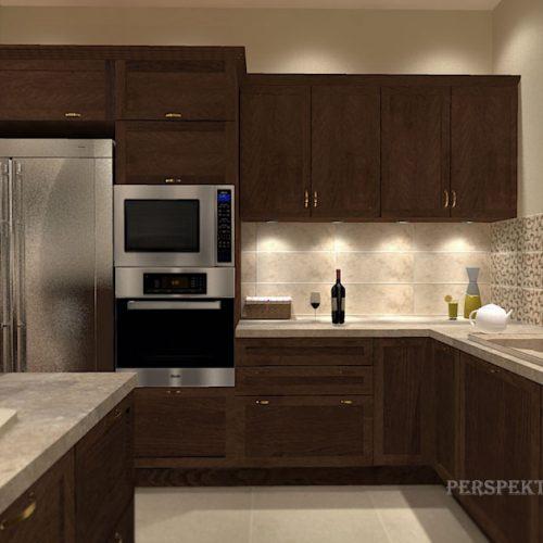 projekt-kuchni-salonu-projektowanie-wnętrz-lublin-perspektywa-studio-kuchnia-klasyczna-ciemne-drewno-3
