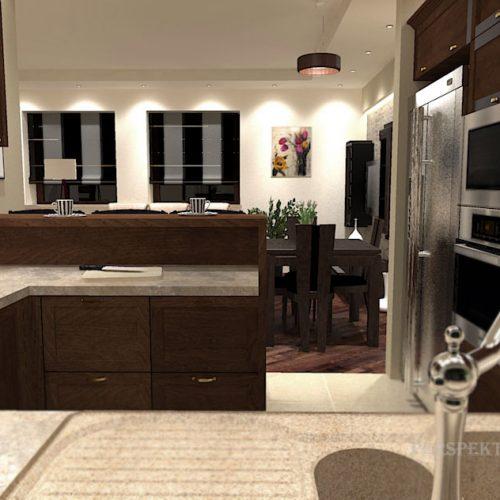 projekt-kuchni-salonu-projektowanie-wnętrz-lublin-perspektywa-studio-kuchnia-klasyczna-ciemne-drewno-4