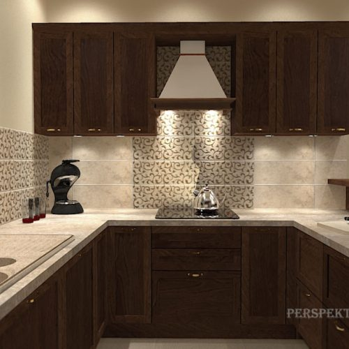projekt-kuchni-salonu-projektowanie-wnętrz-lublin-perspektywa-studio-kuchnia-klasyczna-ciemne-drewno-5