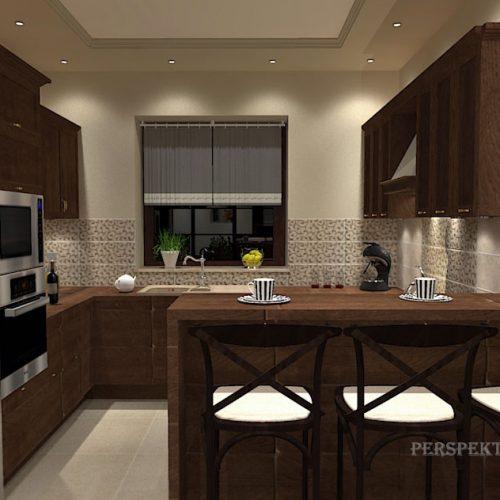 projekt-kuchni-salonu-projektowanie-wnętrz-lublin-perspektywa-studio-kuchnia-klasyczna-ciemne-drewno-6