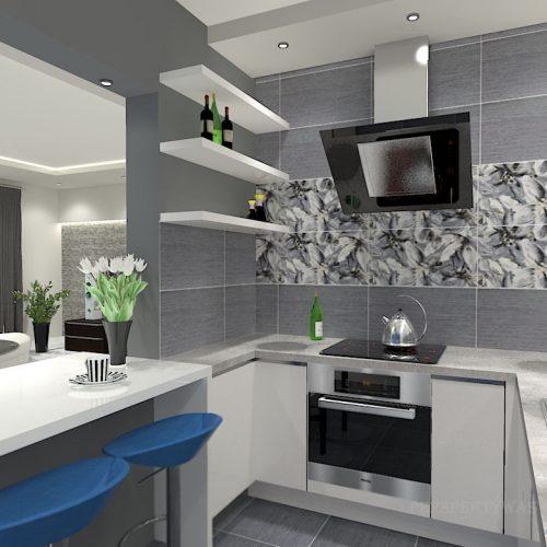 projekt-kuchni-salonu-projektowanie-wnętrz-lublin-perspektywa-studio-kuchnia-minimalistyczna-scandi-białe-fronty-salon-łupek-sarość-błekit-sofy-Meander-3