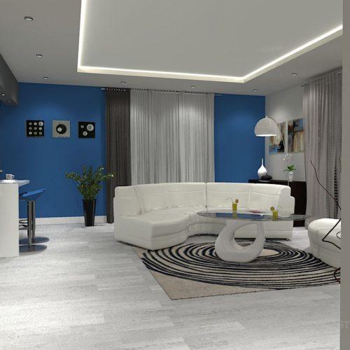 projekt-kuchni-salonu-projektowanie-wnętrz-lublin-perspektywa-studio-kuchnia-minimalistyczna-scandi-białe-fronty-salon-łupek-sarość-błekit-sofy-Meander-6