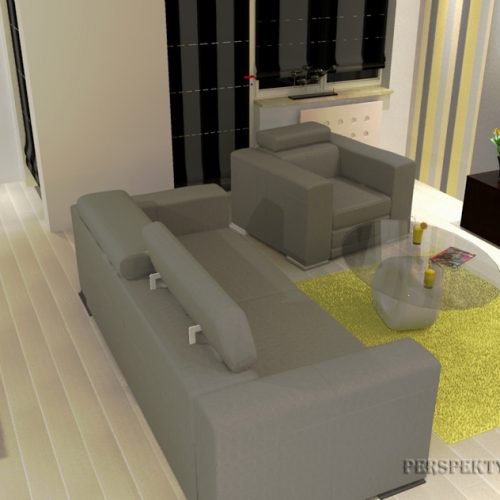 projekt-kuchni-salonu-projektowanie-wnętrz-lublin-perspektywa-studio-kuchnia-nowoczesana-minimalistyczna-zlewozmywak-narożny-salon-biokominek-w-bloku-Black-&-Yellow-10