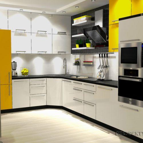 projekt-kuchni-salonu-projektowanie-wnętrz-lublin-perspektywa-studio-kuchnia-nowoczesana-minimalistyczna-zlewozmywak-narożny-salon-biokominek-w-bloku-Black-&-Yellow-12