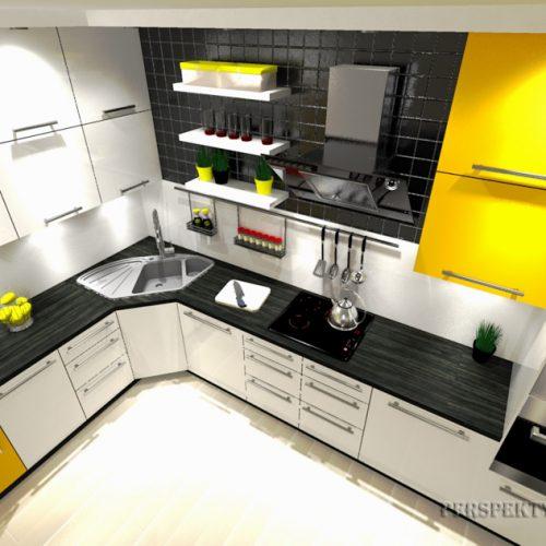 projekt-kuchni-salonu-projektowanie-wnętrz-lublin-perspektywa-studio-kuchnia-nowoczesana-minimalistyczna-zlewozmywak-narożny-salon-biokominek-w-bloku-Black-&-Yellow-5