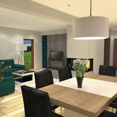 projekt-kuchni-salonu-projektowanie-wnętrz-lublin-perspektywa-studio-kuchnia-nowoczesna-białe-lakierowane-fronty-jadalnia-salon-nietypowe-okna-kominek-narożny-Lazurowe-Dmuchawce-12