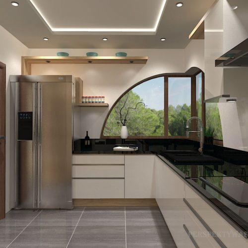 projekt-kuchni-salonu-projektowanie-wnętrz-lublin-perspektywa-studio-kuchnia-nowoczesna-białe-lakierowane-fronty-jadalnia-salon-nietypowe-okna-kominek-narożny-Lazurowe-Dmuchawce-5