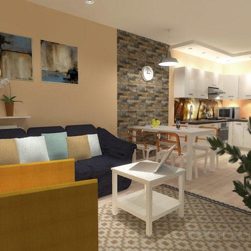 projekt-kuchni-salonu-projektowanie-wnętrz-lublin-perspektywa-studio-kuchnia-nowoczesna-białe-lakierowane-fronty-salon-cegła-sypialnia-kawalerka-Pod-palmami-5