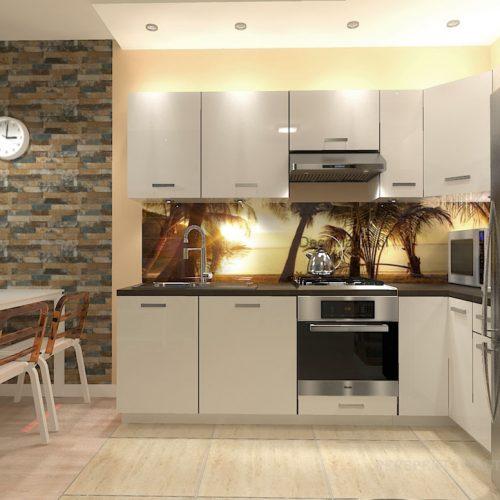 projekt-kuchni-salonu-projektowanie-wnętrz-lublin-perspektywa-studio-kuchnia-nowoczesna-białe-lakierowane-fronty-salon-cegła-sypialnia-kawalerka-Pod-palmami-7