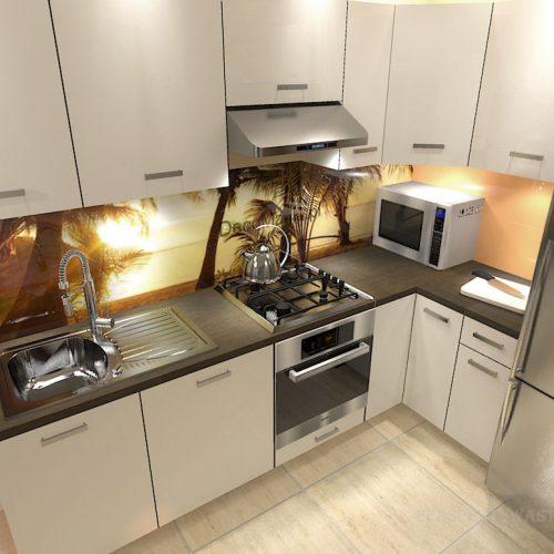 projekt-kuchni-salonu-projektowanie-wnętrz-lublin-perspektywa-studio-kuchnia-nowoczesna-białe-lakierowane-fronty-salon-cegła-sypialnia-kawalerka-Pod-palmami-8