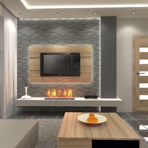 projekt-kuchni-salonu-projektowanie-wnętrz-lublin-perspektywa-studio-kuchnia-nowoczesna-fronty-drewniane-salon-morernizm-grafit-czerń-biokominek-Grafit-i-Cocco-bolo-8