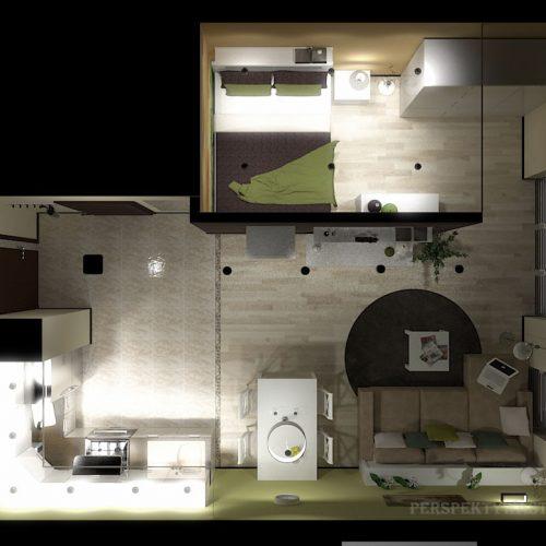 projekt-kuchni-salonu-projektowanie-wnętrz-lublin-perspektywa-studio-kuchnia-nowoczesna-minimalistyczna-nadruk-na-szkle-salon-kawalerka-sypialnia-Robin-Hood-13