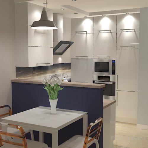 projekt-kuchni-salonu-projektowanie-wnętrz-lublin-perspektywa-studio-kuchnia-nowoczesna-minimalistyczna-salon-kawalerka-sypialnia-Góry-Granit-1
