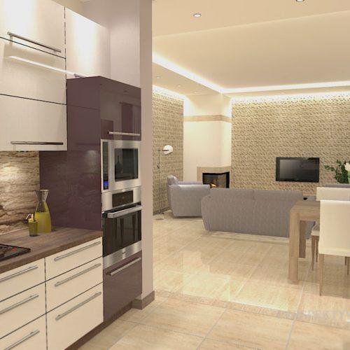 projekt-kuchni-salonu-projektowanie-wnętrz-lublin-perspektywa-studio-kuchnia-nowoczesna-modern-fronty-lakierowane-salon-jadalnia-incana-kominek-narożny-Bakłażan-10