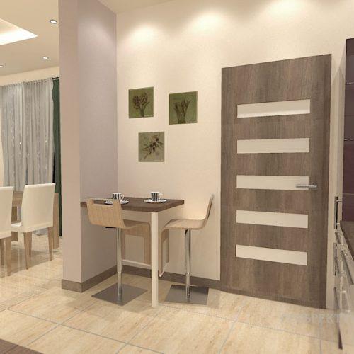 projekt-kuchni-salonu-projektowanie-wnętrz-lublin-perspektywa-studio-kuchnia-nowoczesna-modern-fronty-lakierowane-salon-jadalnia-incana-kominek-narożny-Bakłażan-2
