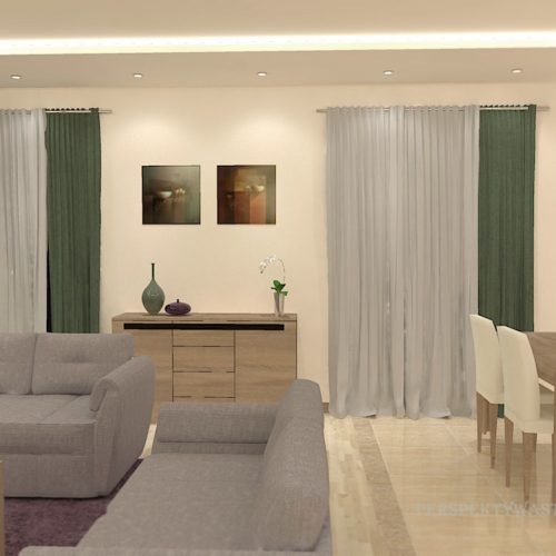 projekt-kuchni-salonu-projektowanie-wnętrz-lublin-perspektywa-studio-kuchnia-nowoczesna-modern-fronty-lakierowane-salon-jadalnia-incana-kominek-narożny-Bakłażan-3