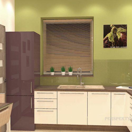 projekt-kuchni-salonu-projektowanie-wnętrz-lublin-perspektywa-studio-kuchnia-nowoczesna-modern-fronty-lakierowane-salon-jadalnia-incana-kominek-narożny-Bakłażan-7