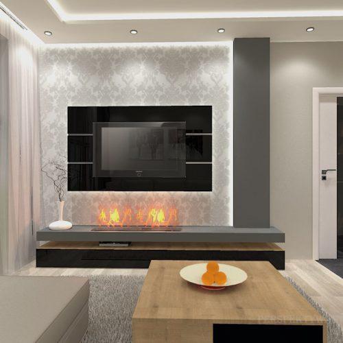 projekt-kuchni-salonu-projektowanie-wnętrz-lublin-perspektywa-studio-kuchnia-nowoczesna-morernistyczna-fronty-drewniane-grafit-salon-biokominek-Grafit-i-dąb-5