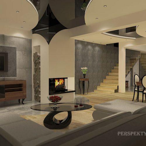 projekt-kuchni-salonu-projektowanie-wnętrz-lublin-perspektywa-studio-kuchnia-nowoczesna-nietypowe-okna-glamour-11