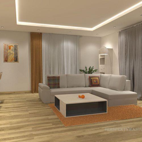 projekt-kuchni-salonu-projektowanie-wnętrz-lublin-perspektywa-studio-kuchnia-nowoczesna-z-barkiem-zabudowa-do-sufitu-salon-łupek-sofa-narożna-Ruda-1-1