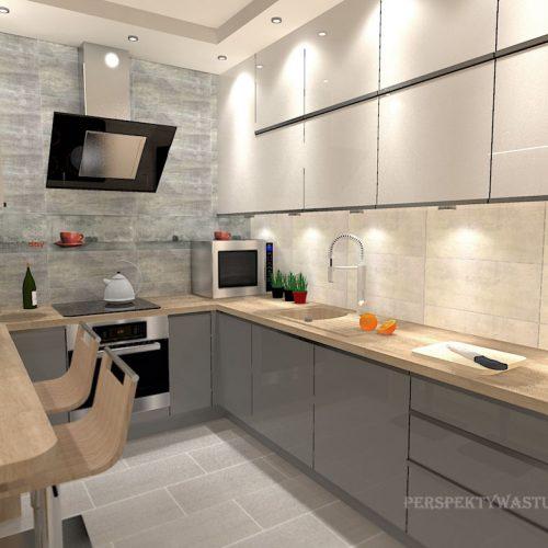 projekt-kuchni-salonu-projektowanie-wnętrz-lublin-perspektywa-studio-kuchnia-nowoczesna-z-barkiem-zabudowa-do-sufitu-salon-łupek-sofa-narożna-Ruda-1-5