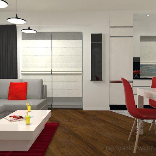 projekt-kuchni-salonu-projektowanie-wnętrz-lublin-perspektywa-studio-kuchnia-nowoczesna-z-biała-cegiełką-białe-meble-salon-skośne-łaczenie-podłóg-patchwork-Kawa-czy-herbata-4