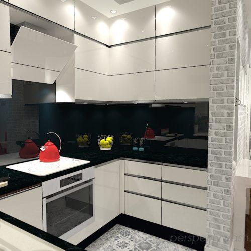 projekt-kuchni-salonu-projektowanie-wnętrz-lublin-perspektywa-studio-kuchnia-nowoczesna-z-biała-cegiełką-białe-meble-salon-skośne-łaczenie-podłóg-patchwork-Kawa-czy-herbata-5