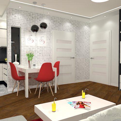 projekt-kuchni-salonu-projektowanie-wnętrz-lublin-perspektywa-studio-kuchnia-nowoczesna-z-biała-cegiełką-białe-meble-salon-skośne-łaczenie-podłóg-patchwork-Kawa-czy-herbata-6