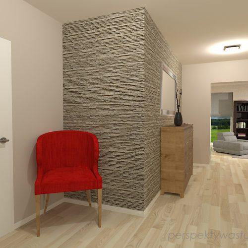 projekt-kuchni-salonu-projektowanie-wnętrz-lublin-perspektywa-studio-kuchnia-szaro-biała-styl-minimalistyczny-lodówka-side-by-side-salon-kominek-narożny-przedpokój-Czerwone-drzwi-do-nikąd-10
