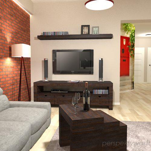 projekt-kuchni-salonu-projektowanie-wnętrz-lublin-perspektywa-studio-kuchnia-szaro-biała-styl-minimalistyczny-lodówka-side-by-side-salon-kominek-narożny-przedpokój-Czerwone-drzwi-do-nikąd-7