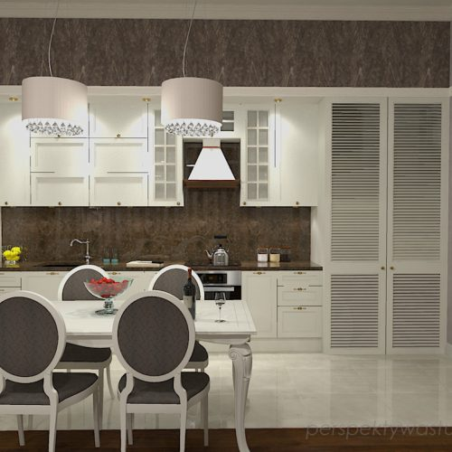 projekt-kuchni-salonu-projektowanie-wnętrz-lublin-perspektywa-studio-kuchnia-z-salonem-styl-kalsyczny-z-białymi-meblami-kamienica-styl-angielski-Borowik-szlachecki-1