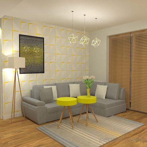projekt-kuchni-salonu-projektowanie-wnętrz-lublin-perspektywa-studio-kuchnia-z-salonem-styl-nowoczesny-szara-podłoga-białe-drzwi-sufity-podwieszane-z-taśma-led-żółte-akcenty-Ananas-4
