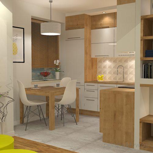 projekt-kuchni-salonu-projektowanie-wnętrz-lublin-perspektywa-studio-kuchnia-z-salonem-styl-nowoczesny-szara-podłoga-białe-drzwi-sufity-podwieszane-z-taśma-led-żółte-akcenty-Ananas-7