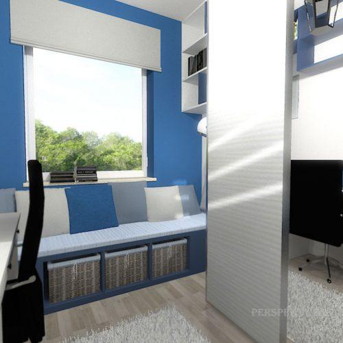 projekt-pokoju-projektowanie-wnętrz-lublin-perspektywa-studio-gabinet-do-pracy-regał-na-książki-niebieski-Schody-do-nieba-114