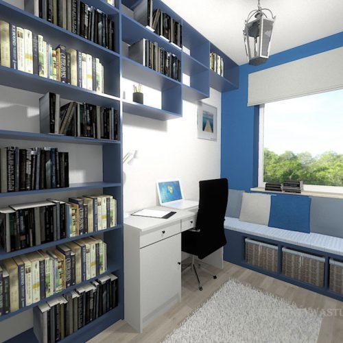 projekt-pokoju-projektowanie-wnętrz-lublin-perspektywa-studio-gabinet-do-pracy-regał-na-książki-niebieski-Schody-do-nieba-115