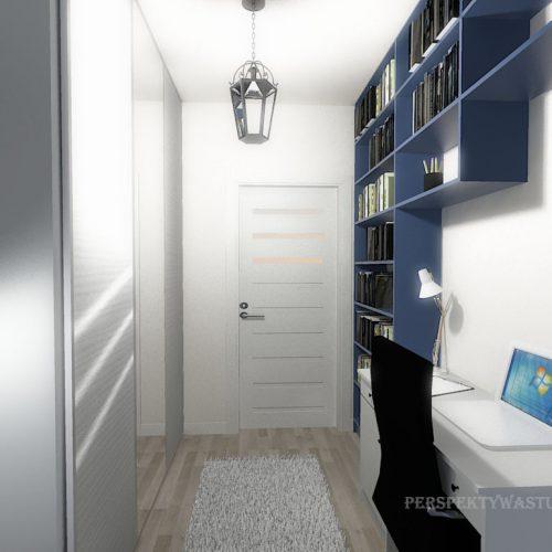 projekt-pokoju-projektowanie-wnętrz-lublin-perspektywa-studio-gabinet-do-pracy-regał-na-książki-niebieski-Schody-do-nieba-117