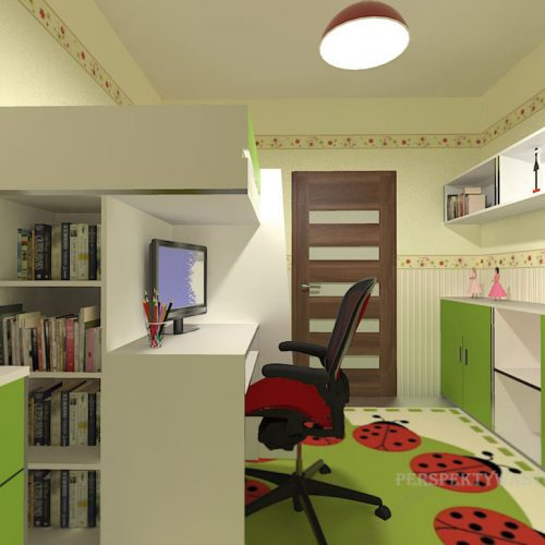 projekt-pokoju-projektowanie-wnętrz-lublin-perspektywa-studio-pokój-dla-dziewczynki-6-lat-Biedronka-80