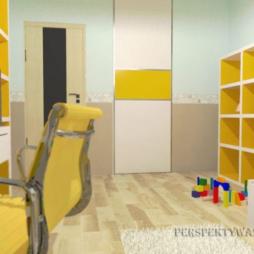 projekt-pokoju-projektowanie-wnętrz-lublin-perspektywa-studio-pokój-dziewczynki-6-lat-żółty-Lemonade-41