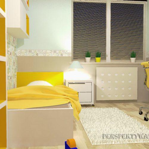projekt-pokoju-projektowanie-wnętrz-lublin-perspektywa-studio-pokój-dziewczynki-6-lat-żółty-Lemonade-44
