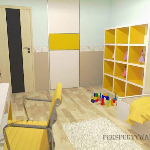 projekt-pokoju-projektowanie-wnętrz-lublin-perspektywa-studio-pokój-dziewczynki-6-lat-żółty-Lemonade-45