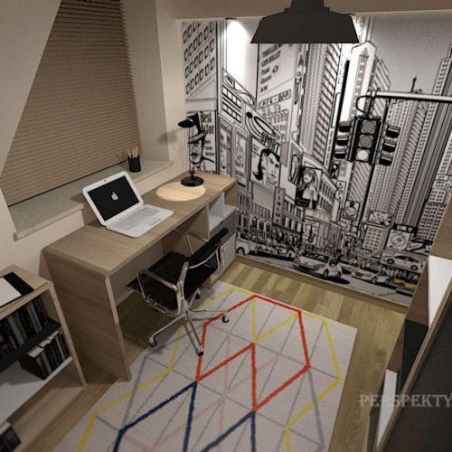 projekt-pokoju-projektowanie-wnętrz-lublin-perspektywa-studio-pokój-nastolatka-poddasze-Nastolatek-w-mieście-29