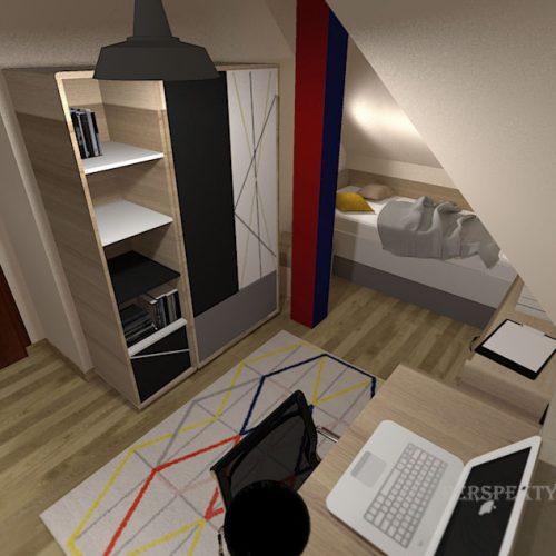 projekt-pokoju-projektowanie-wnętrz-lublin-perspektywa-studio-pokój-nastolatka-poddasze-Nastolatek-w-mieście-32