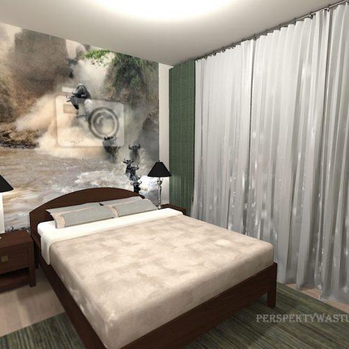 projekt-pokoju-projektowanie-wnętrz-lublin-perspektywa-studio-sypialnia-nowoczesna-brąz-zieleń-fototapeta-Gnu-90