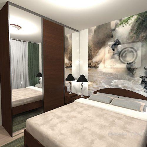 projekt-pokoju-projektowanie-wnętrz-lublin-perspektywa-studio-sypialnia-nowoczesna-brąz-zieleń-fototapeta-Gnu-91
